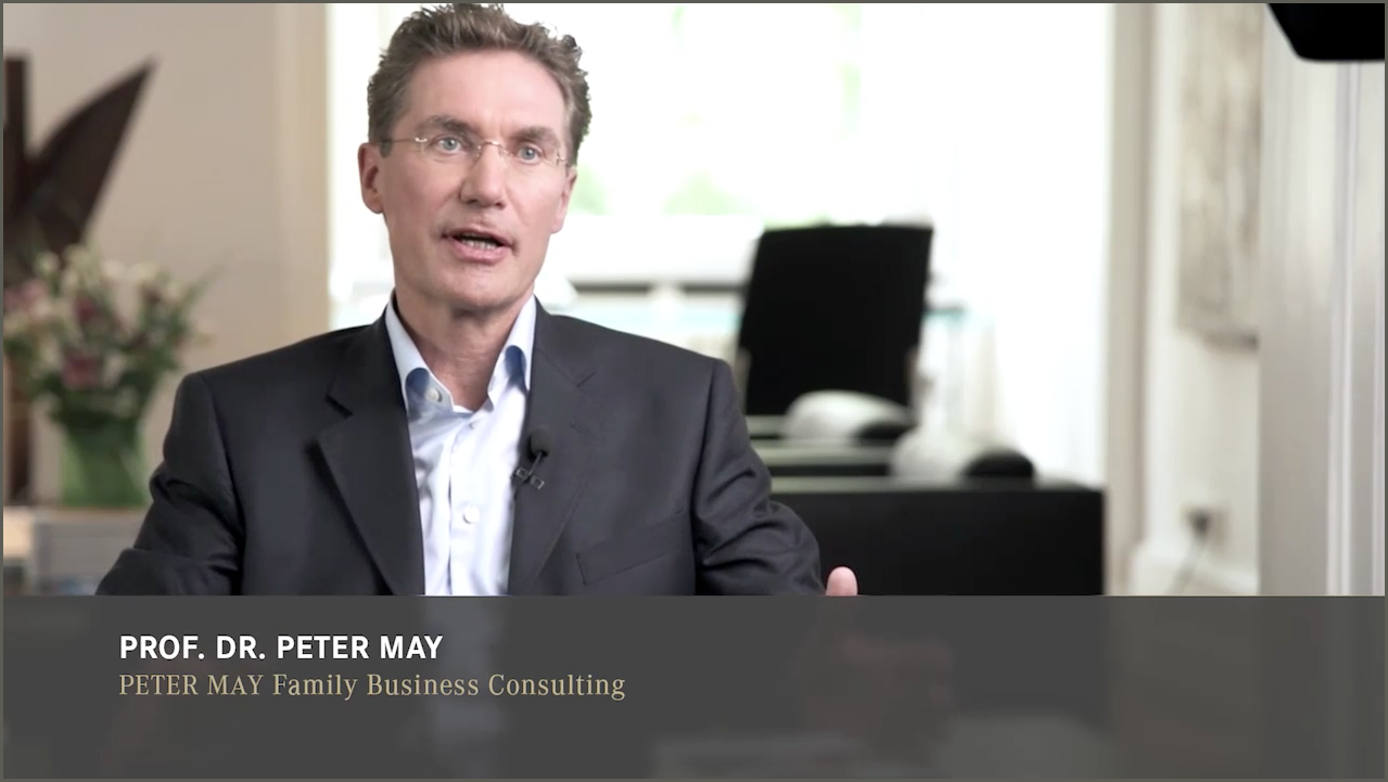 Peter May, Video-Businessportrait